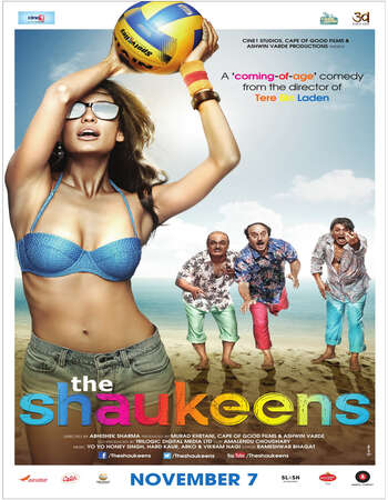 The Shaukeens (2014) Hindi 720p WEB-DL x264 950MB Full Movie Download