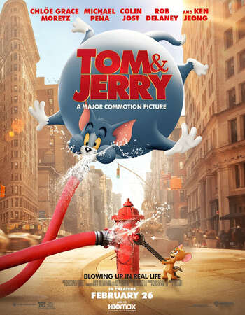 Tom and Jerry (2021) English 720p HDCAM x264 750MB Full Movie Download