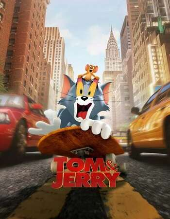 Tom and Jerry 2021 English 1080p WEB-DL 1.7GB Download