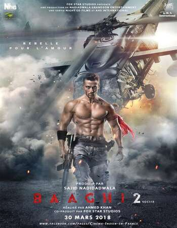 Baaghi 2 (2018) Hindi 720p WEB-DL x264 950MB Full Movie Download