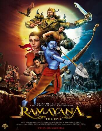 Ramayana: The Epic (2010) Hindi 480p BluRay x264 300MB ESubs Full Movie Download