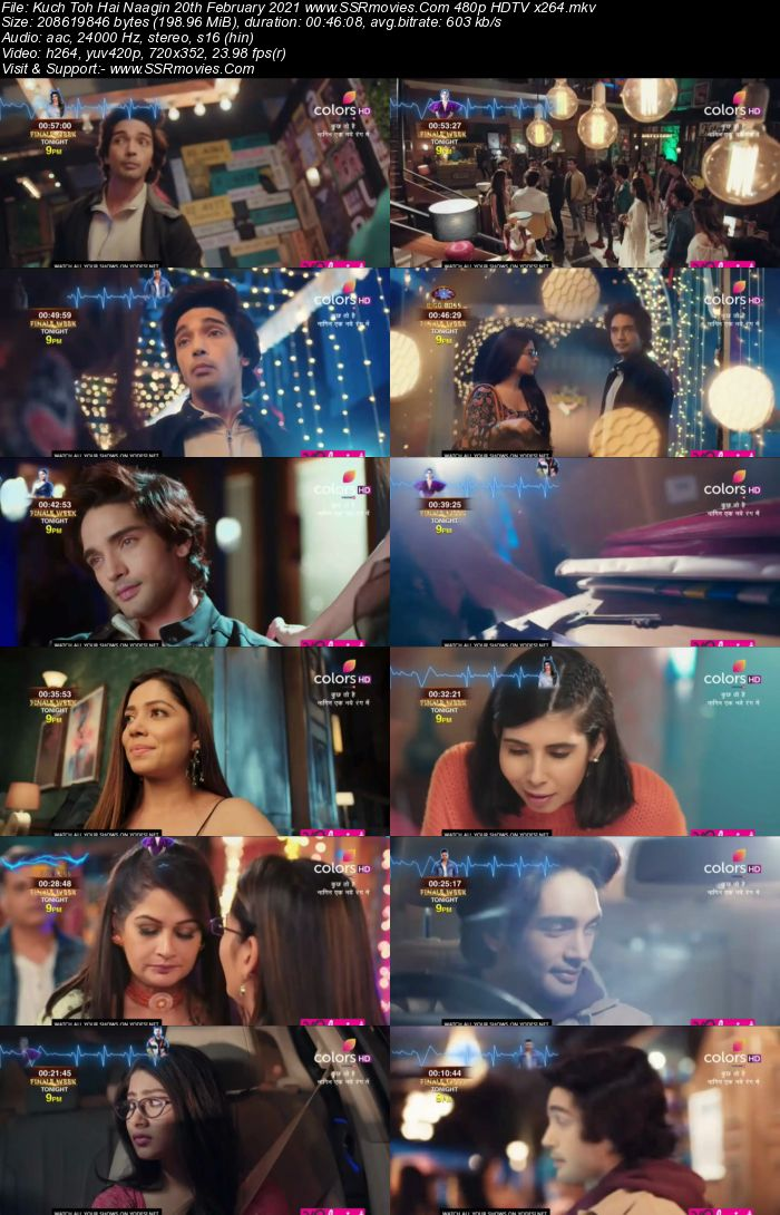 Kuch Toh Hai Naagin S06 20th February 2021 480p 720p HDTV 200MB Download