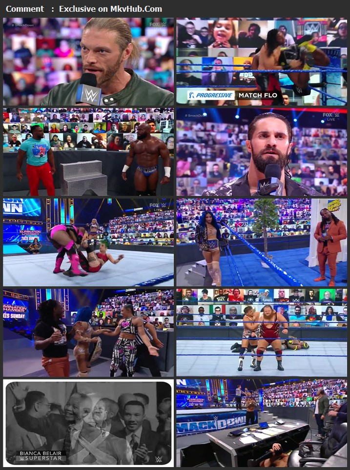 WWE Friday Night SmackDown 19th February 2021 720p WEBRip 750MB Download