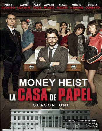 Money Heist 2017 S01 Complete Dual Audio Hindi 720p 480p WEB-DL ESubs Download