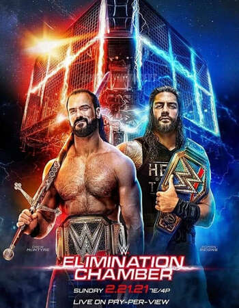 WWE Elimination Chamber 2021 English 720p PPV WEBRip 1.3GB Download