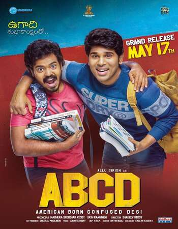 ABCD: American-Born Confused Desi 2019 Dual Audio [Hindi-Telugu] 720p WEB-DL 1.1GB Download