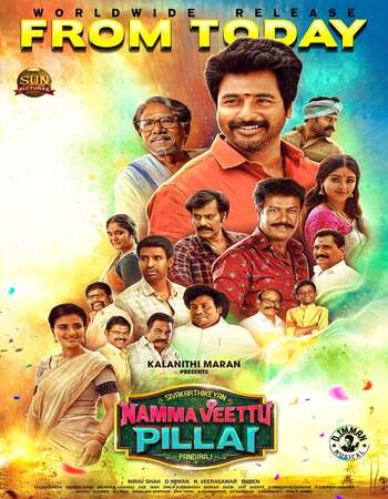 Namma Veettu Pillai 2019 Dual Audio [Hindi-Tamil] 720p WEB-DL 1.2GB Download