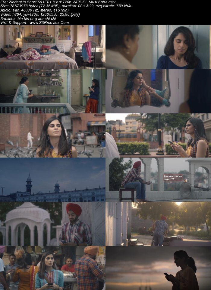 Zindagi in Short (2020) S01 Complete Hindi 720p WEB-DL 600MB MSubs Download