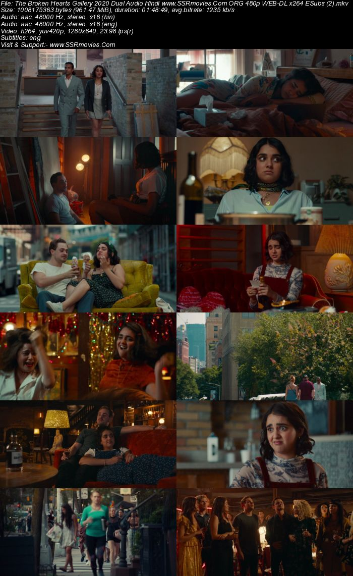 The Broken Hearts Gallery (2020) Dual Audio Hindi 720p WEB-DL x264 950MB Full Movie Download