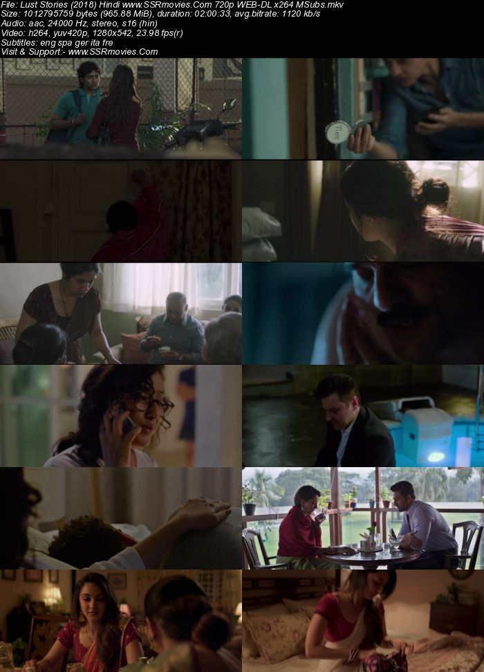 Lust Stories (2018) Hindi 720p WEB-DL x264 950MB Full Movie Download