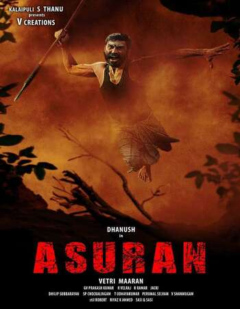 Asuran 2019 Dual Audio [Hindi-Tamil] 720p WEB-DL 1.1GB ESubs
