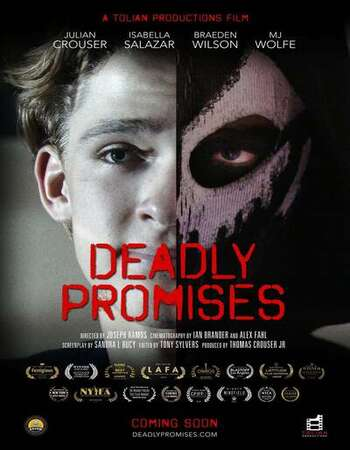 Deadly Promises 2021 English 720p WEB-DL 700MB ESubs