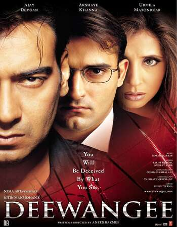 Deewangee (2002) Hindi  480p | 720p WEB-DL x264  AAC  450MB |1.2GB  Download