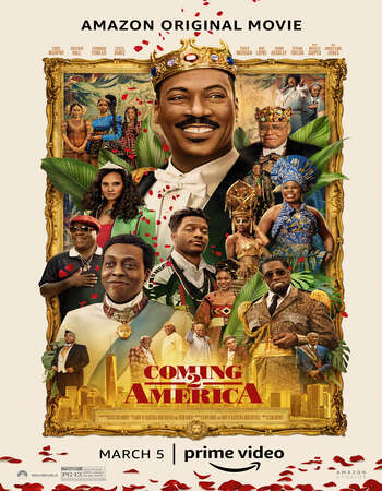 Coming 2 America (2021) English 480p WEB-DL x264 350MB ESubs Full Movie Download