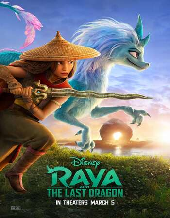 Raya and the Last Dragon (2021) English 720p WEB-DL x264 950MB Full Movie Download