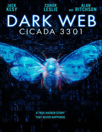 Dark Web: Cicada 3301 2021 English 720p BluRay 900MB ESubs