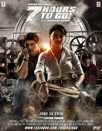 7 Hours to Go (2016) Hindi 720p DVDRip x264 800MB Full Movie Download