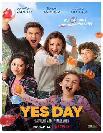 Yes Day (2021) Dual Audio Hindi 720p WEB-DL x264 850MB Full Movie Download
