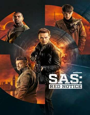 SAS: Red Notice 2021 English 1080p WEB-DL 2GB ESubs