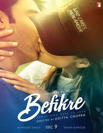 Befikre (2016) Hindi 720p WEB-DL x264 1GB