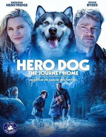 Hero Dog: The Journey Home 2021 English WEB-DL 850MB ESubs