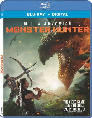 Monster Hunter (2020) Dual Audio Hindi ORG 480p BluRay 350MB ESubs Full Movie Download