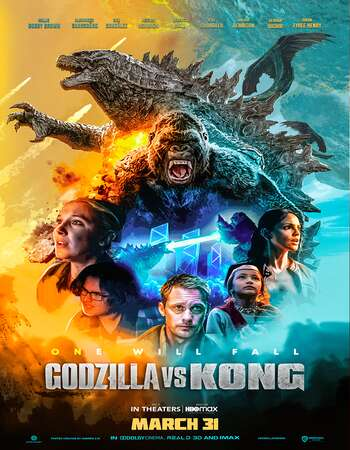 Godzilla vs. Kong 2021 Dual Audio [Hindi-English] ORG 720p WEB-DL 950MB ESubs