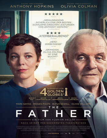 The Father (2020) English 720p WEB-DL x264 850MB Full Movie Download