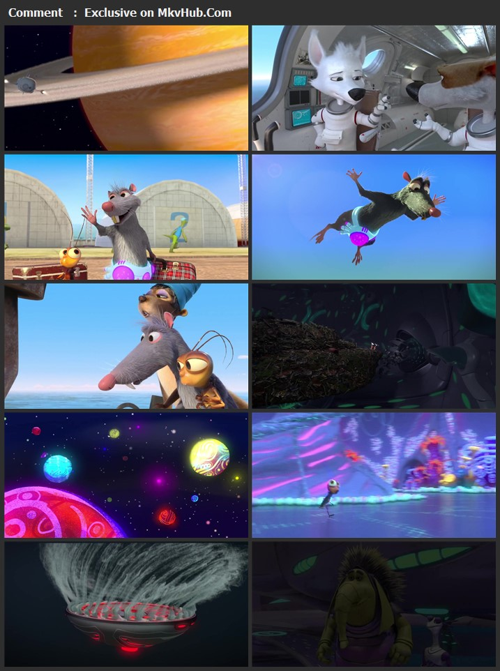 Space Dogs: Tropical Adventure 2020 English 720p WEB-DL 700MB Download
