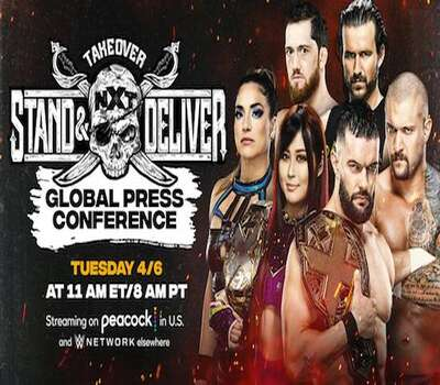WWE NXT TakeOver Stand & Deliver 2021 400MB HDTV 480p x264 Download