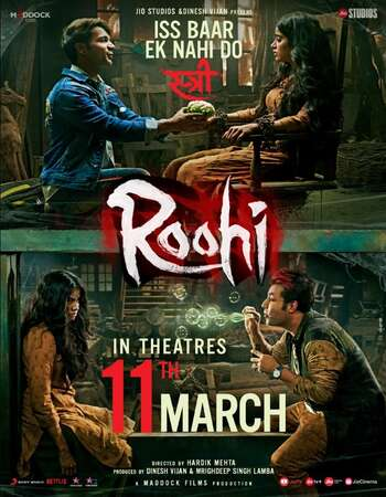 Roohi 2021 Hindi 720p WEB-DL x264 1.1GB ESubs