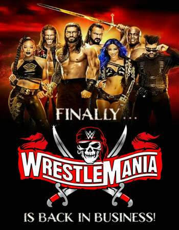 WrestleMania 37 2021 Night 01 & 02 PPV 720p WEBRip x264 1.9GB