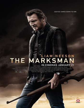 The Marksman 2021 WEB-DL 480p Dual Audio Hindi Cleaned 350MB