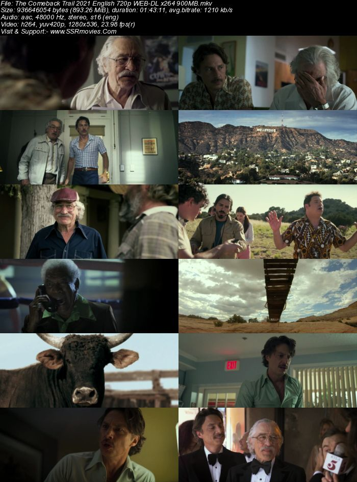 The Comeback Trail (2020) English 720p WEB-DL x264 900MB Full Movie Download