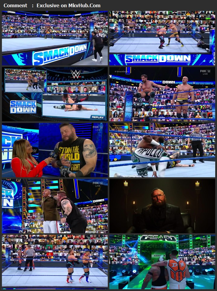 WWE Friday Night SmackDown 23 April 2021 720p HDTV x264 700MB Download