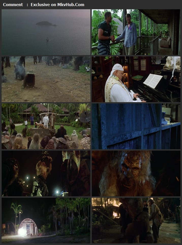 The Island of Dr. Moreau 1996 English 720p BluRay 900MB Download