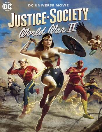 Justice Society: World War II (2021) English 720p WEB-DL x264 700MB Full Movie Download
