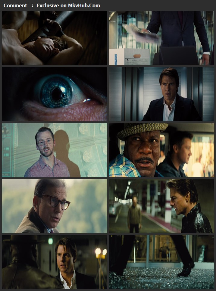 Mission: Impossible Rogue Nation 2015 English 720p HEVC BluRay 1GB Download