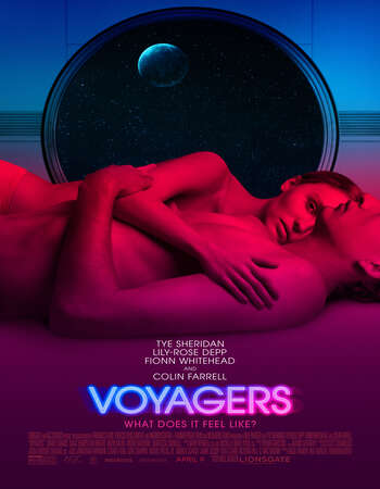 Voyagers (2021) English 720p WEB-DL x264 900MB Full Movie Download