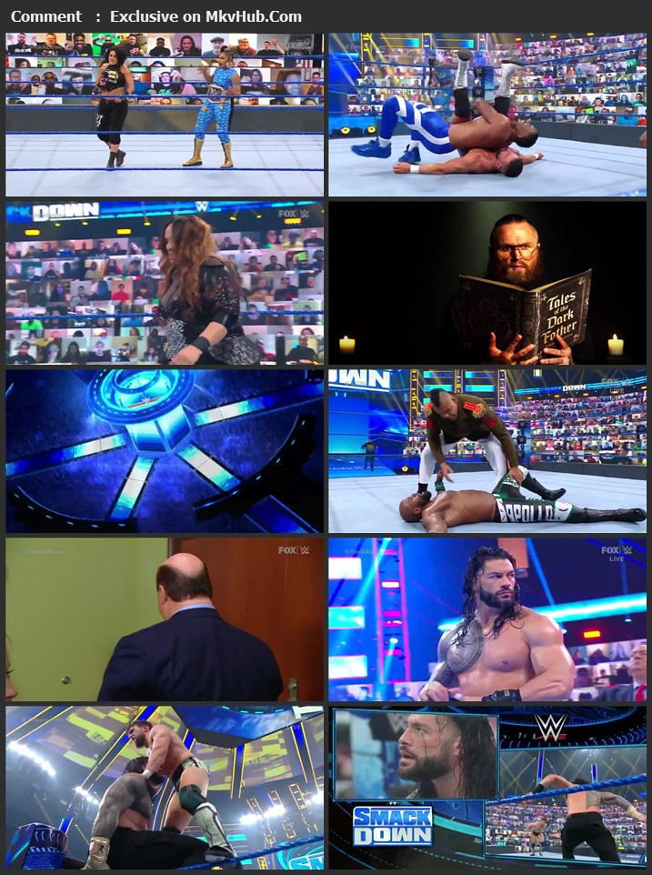 WWE Friday Night SmackDown 30 April 2021 720p WEBRip x264 750MB Download