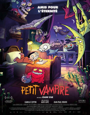 Little Vampire 2020 English 720p WEB-DL 750MB Download