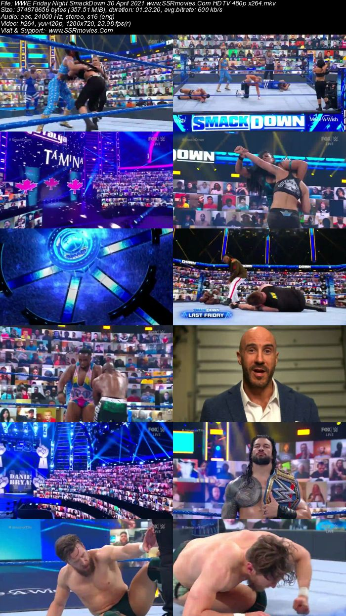 WWE Friday Night SmackDown 30th April 2021 Full Show Download