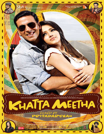 Khatta Meetha (2010) Hindi 480p WEB-DL x264 450MB ESubs Full Movie Download