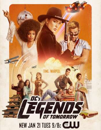 DC's Legends of Tomorrow S06 720p WEB-DL x264 ESubs Download