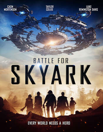 Battle for Skyark 2017 Dual Audio [Hindi-English] 720p BluRay 850MB