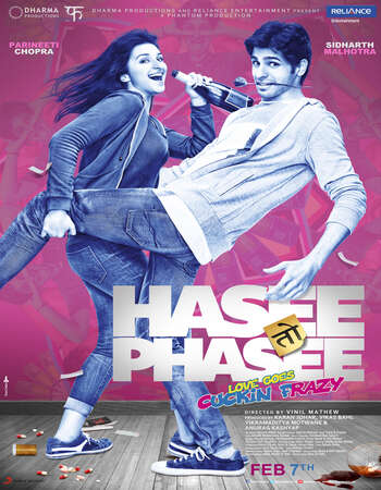 Hasee Toh Phasee (2014) Hindi 720p WEB-DL x264 1GB Full Movie Download