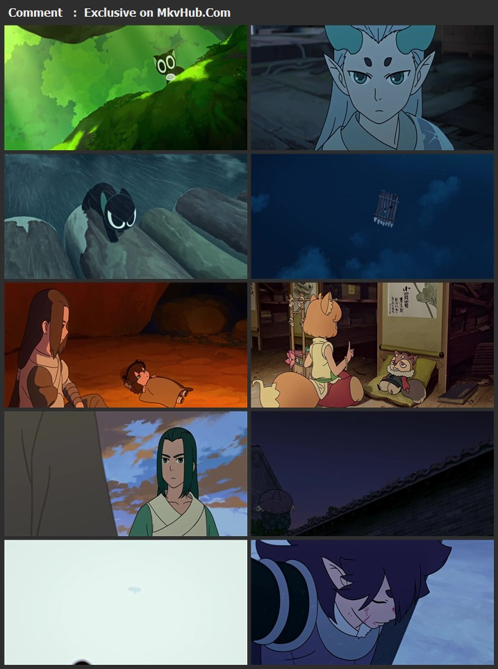 The Legend of Hei 2021 English 720p BluRay 900MB Download
