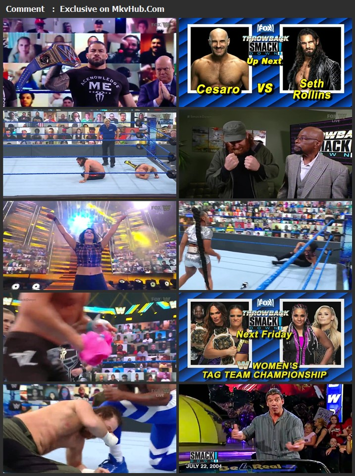 WWE Friday Night SmackDown 8th May 2021 720p WEBRip x264 750MB Download
