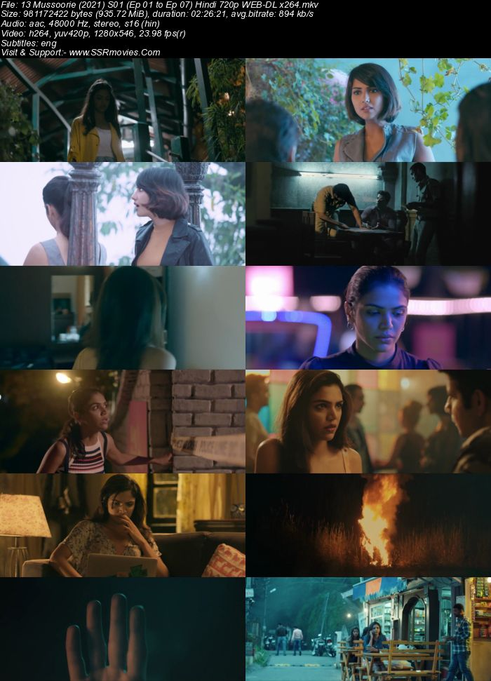 13 Mussoorie (2021) S01 Complete Hindi 720p WEB-DL x264 1.7GB ESubs Download