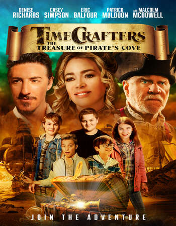 Timecrafters The Treasure of Pirates Cove 2021 English 720p WEB-DL 800MB ESubs